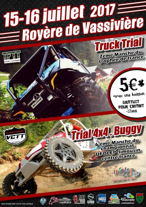 Trophée France Truck Trial Juillet 2017
